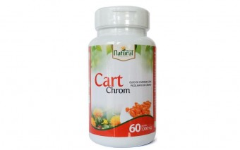 CART CROM 1000MG 60CP MAIS NATURAL